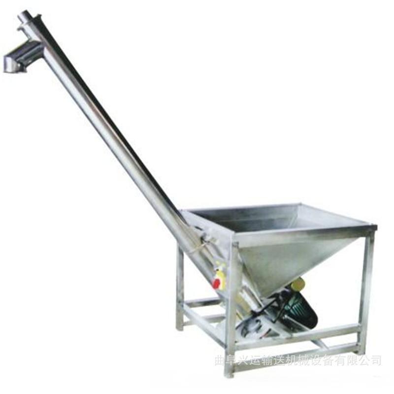 自吸式螺旋提升机 石灰粉螺旋提升机qc