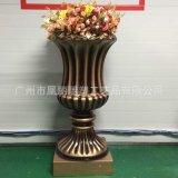 歐式復古花盆裝飾 園林設計 花盆樹脂工藝婚慶裝飾