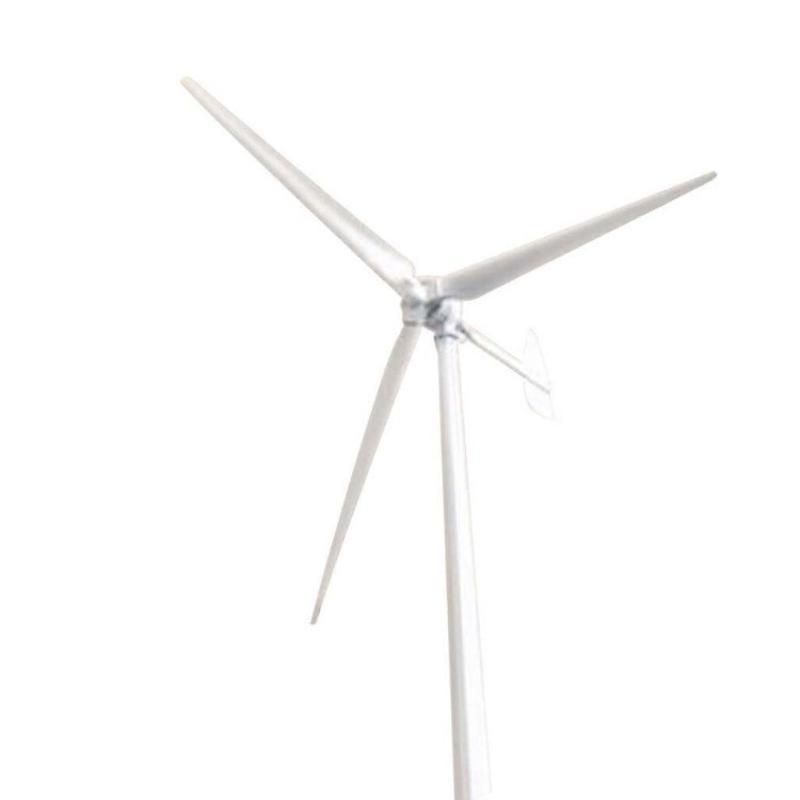 雄安新区200W/400w家用小型水平轴风力发电机风光互补路灯监控用