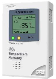 空气质量检测壁挂式二氧化碳检测仪IAQ-1-CO2