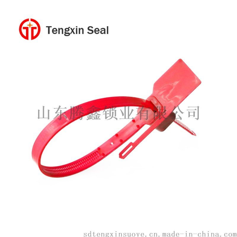 一次性尼龍紮帶塑料鉛封扣 集裝箱鉛封鎖塑料封條吊牌紮帶定製
