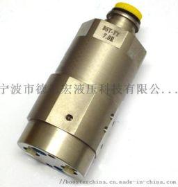 5倍比旋转式液压增压器  油压增压缸 **压泵