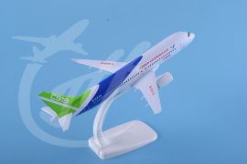 飞机模型C919中国上飞机20cm模型