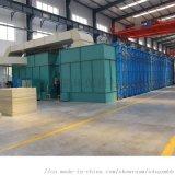 山东新迈环保设备加工定制各类移动伸缩喷漆房