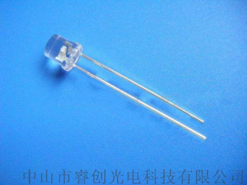 5MM内凹LED发光二极管,灯饰灯串白光LED灯泡