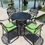铸铝桌椅 铝合金休闲套椅