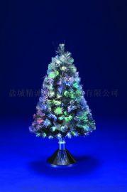 台座式PVC光纤装饰树90CM高