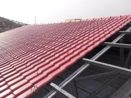 成都合成树脂瓦生产塑料仿古瓦 重庆树脂屋面瓦厂家