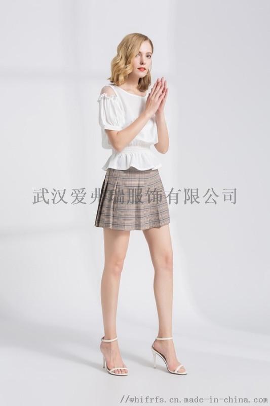 服装进货付款方式【现货】玲珑格格短袖连衣裙