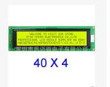 4004字元點陣LCD液晶顯示模組 LCM顯示屏 黃綠屏