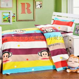 小雞專供幼兒園被子 三件套全棉兒童被褥卡通純棉被套寶寶午睡嬰兒牀六件套