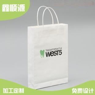 绿色环保牛皮纸手提袋_药品手提纸袋价格手提袋免费设计