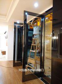 深圳玻璃门罗湖玻璃门龙岗玻璃门考勤玻璃门维修