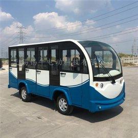 遼寧大連11座全封閉電動觀光車擺渡車售價廠家