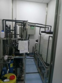 东营市人民医院化验用0.25吨双级反渗透设备+EDI医药用超纯水设备