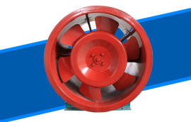 轴流式排烟风机NO.5号高温消防风机HTF-I型