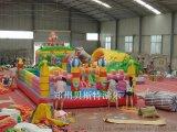河南郑州新密市充气城堡贝斯特制造好质量优质城堡