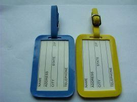 软胶卡通行李吊牌,PVC情侣行李吊牌,橡胶行李吊牌
