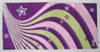 T-2159_紫底星星波浪 / Fun's play 魔术头巾