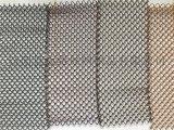铝合金装饰网 螺旋形网帘 烤漆网帘 金色帘子网 垂帘网