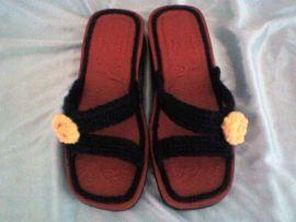 手工毛线拖鞋(ID-2)
