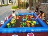 河南儿童充气沙滩池厂家直销游乐设备