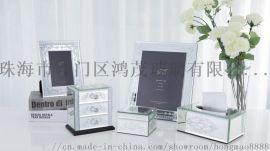 玻璃首饰盒厂家定做 **首饰盒品牌 饰品收纳盒