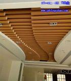 海东木纹铝方管 木纹色铝方通定制 木纹铝方通吊顶 木纹铝型材厂家