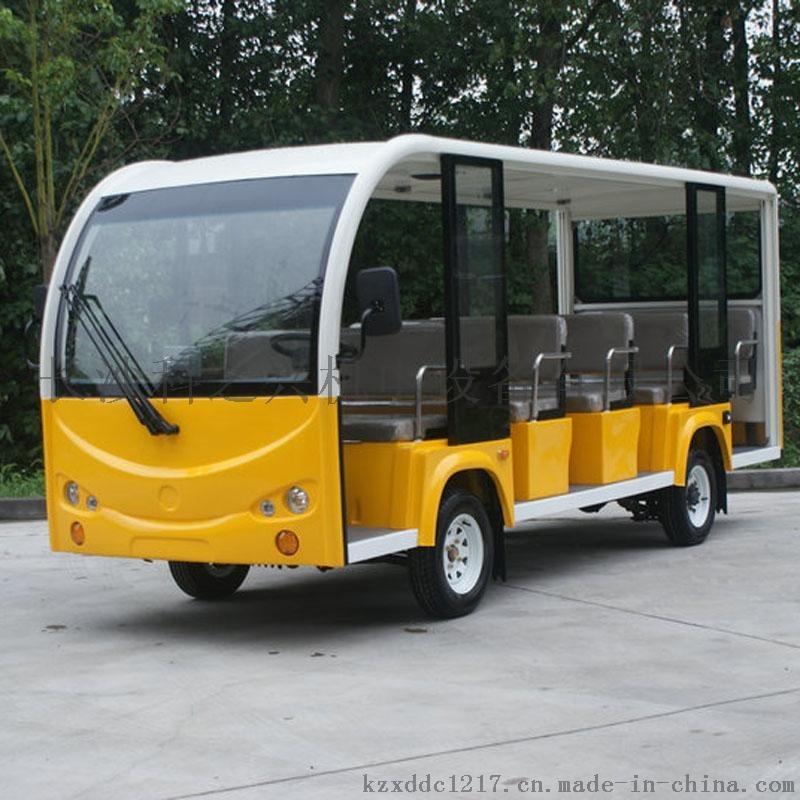 14座电瓶观光车景区旅游电动车楼盘电动接待车
