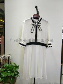 广州尾货折扣厂家服装,深圳品牌一琢女装折扣走份