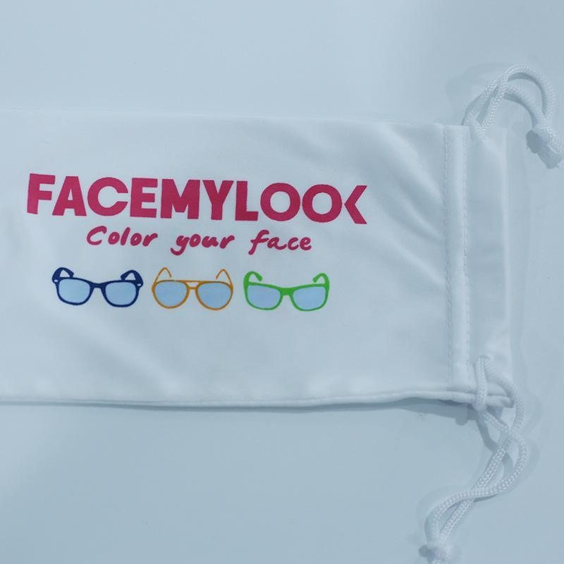 眼鏡袋束口超細纖維太陽鏡袋裝眼鏡收納袋防刮花眼鏡布袋定製