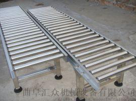 轮胎辊筒转弯输送机多层分拣 水平输送滚筒线北京