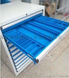广西抽屉式工具柜、柳州8抽工具柜,不锈钢材质工具柜