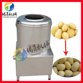 不锈钢磨砂滚筒清洗机,土豆滚筒清洗去皮机