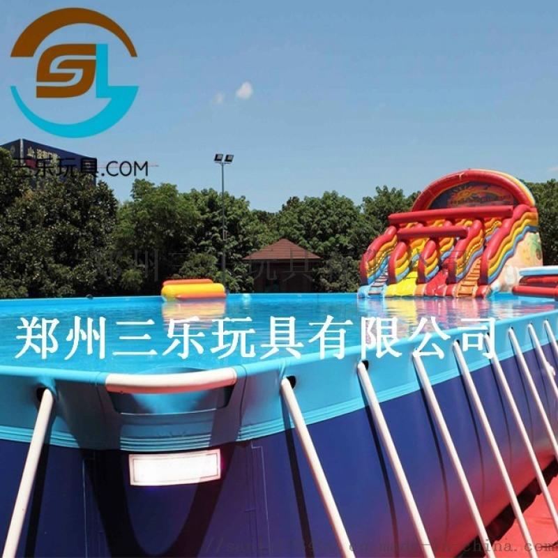 貴州畢節水上樂園夏季支架水池大型樂園