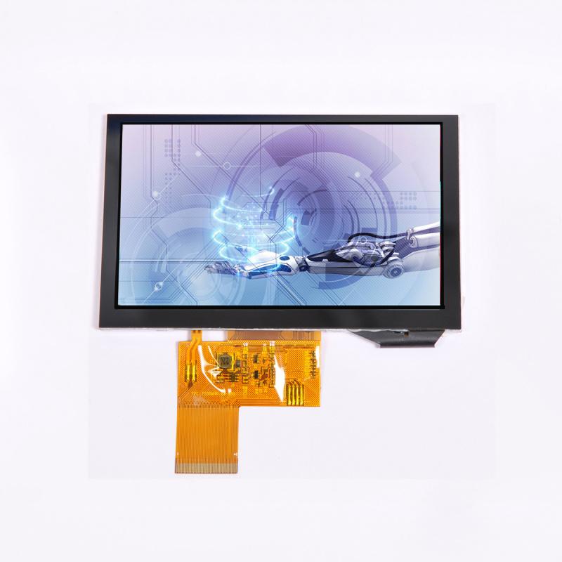 5寸TFT液晶显示屏800*480高清液晶屏