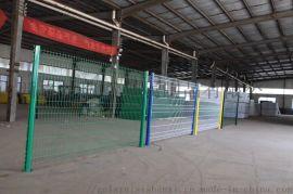 太原双边丝围栏 浸塑钢丝网 高速公路护栏网厂家