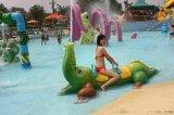 兒童水樂園設備鱷魚噴水設備定製