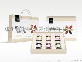五谷杂粮礼品盒包装设计案例分享
