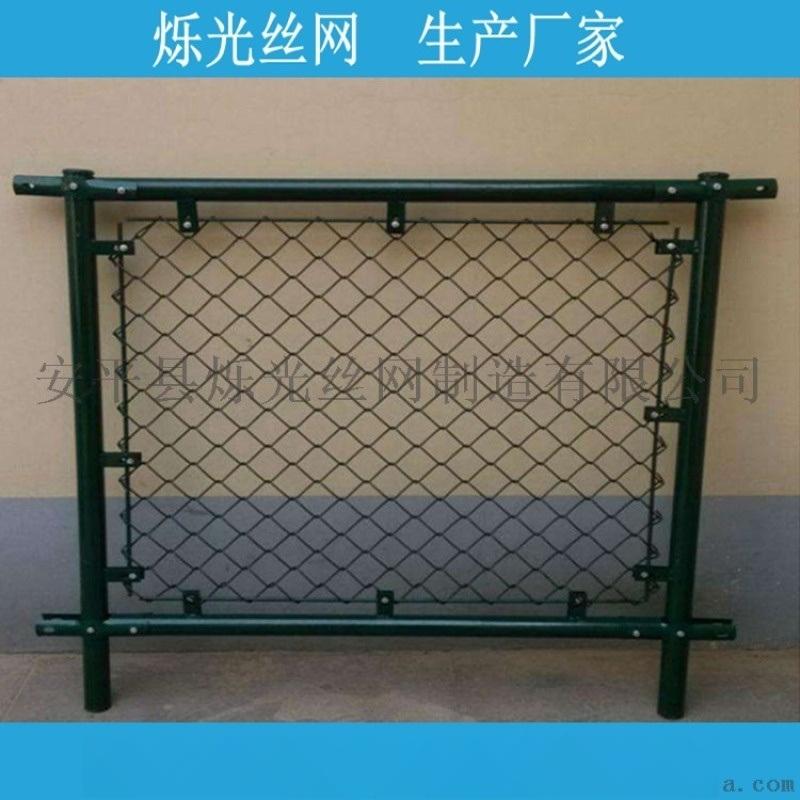 墨绿色篮球场围网 **颖篮球场防护网栏