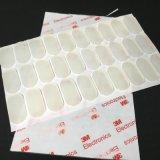 生產直銷平價圓形硅膠墊白色橡膠墊片方形防滑自粘腳墊