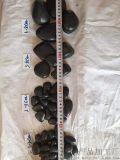 哈爾濱黑色拋光鵝卵石 永順鋪路用黑色卵石多少錢