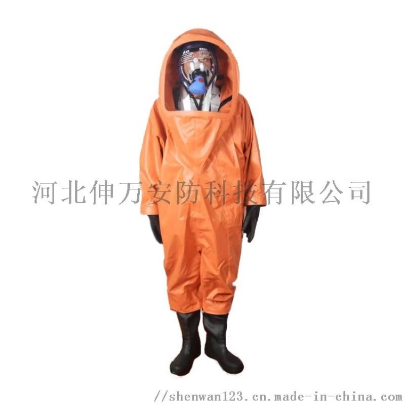 伸万  FHIC  液密性 重型防化服 厂家直销