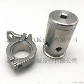 玻璃罩发酵自动排压阀发酵罐排气安全阀