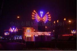厂家直销滴胶造型灯3D飞马造型灯 LED灯光节装饰灯 圣诞节彩灯