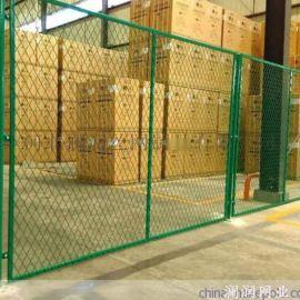 成都供应隔离栅护栏网 新型车间隔离网 绿色隔离栅