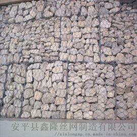 镀锌石笼网|河渠驳岸包塑石笼网|高尔凡石笼网