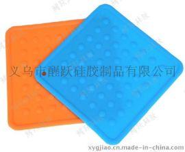 大号**环保硅胶西餐垫 隔热防滑桌垫 耐磨耐高温锅垫