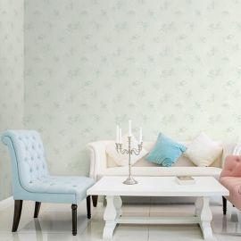 韩国首尔进口16.5平大卷pvc壁纸欧式简约时尚卧室客厅背景墙纸