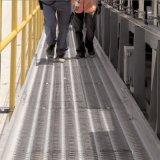 河北億利達廠家直銷鱷魚嘴鋼板網,防滑網,腳踏網